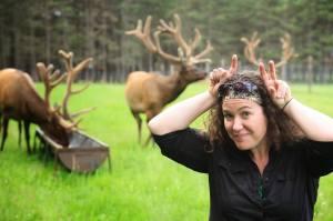 Cathy Chenard, une animatrice qui a du panache! Photo: Patrice Gagnon