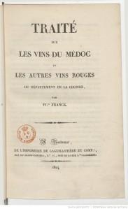 Traité sur le vin, 1824.