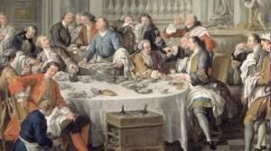 Le déjeuner d'huîtres (1735).